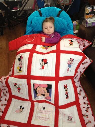 Photo of Mia Bs quilt