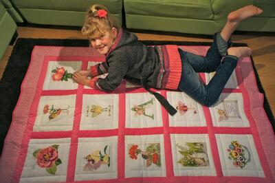 Photo of Abigails quilt