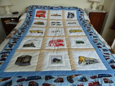 Photo of Jack Ws quilt