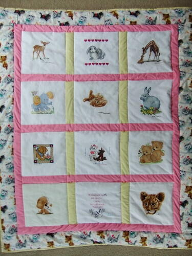 Photo of Lotty Bs quilt