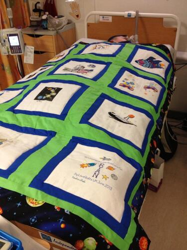 Photo of Ryan Ms quilt