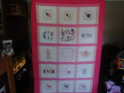 Photo of Toni Cs quilt