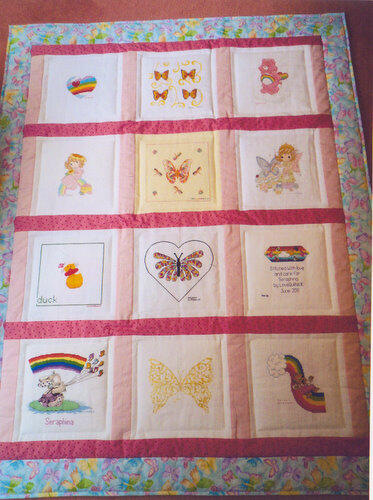 Photo of Seraphinas quilt