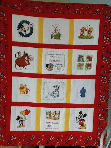 Photo of Mathew Hs quilt