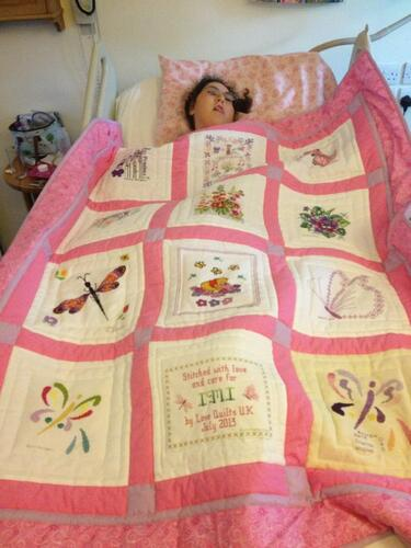 Photo of Imogen As quilt