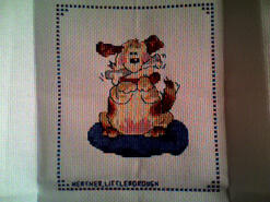 Cross stitch square for Paddy B's quilt