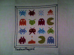 Cross stitch square for Jake S's quilt