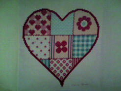 Cross stitch square for Cameron B's quilt