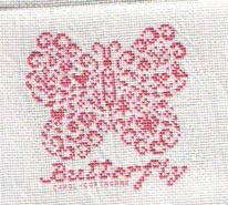 Cross stitch square for Gracie-Mae F's quilt