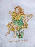 Cross stitch square for Tia-Rose M's quilt