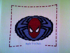 Cross stitch square for Jack C's quilt