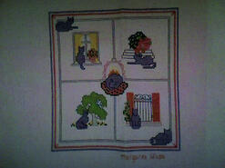 Cross stitch square for Jamie S's quilt