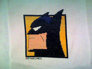 Any child cross stitch category: Superheroes