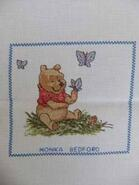 Cross stitch square for Theo S's quilt
