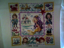 Cross stitch square for Ryleigh-Jade's quilt