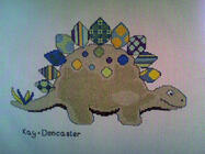 Any child cross stitch category: Dinosaurs