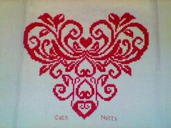 Cross stitch square for any child