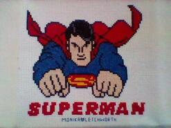 Cross stitch square for Levi-Jett M's quilt