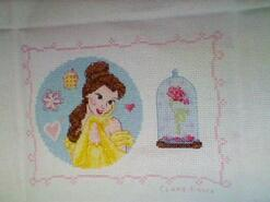 Cross stitch square for Harriette H's quilt