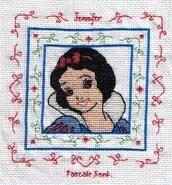 Cross stitch square for Jennifer M's quilt