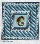 Cross stitch square for Harry L's quilt