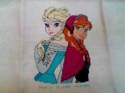 Cross stitch square for Darcy H's quilt