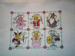 Cross stitch square for Niva P's quilt