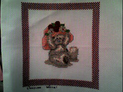 Cross stitch square for Sienna S's quilt