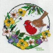 Cross stitch square for Daisy C's quilt