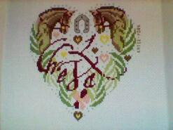 Cross stitch square for Emily S's quilt