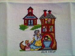 Cross stitch square for Cameron F's quilt
