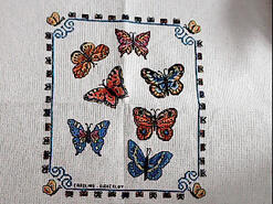 Cross stitch square for Ava S's quilt