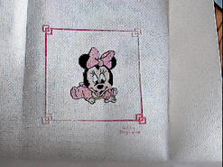 Cross stitch square for Mia B's quilt