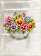 Cross stitch square for Abigail's quilt