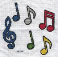 Cross stitch square for Toni C's quilt