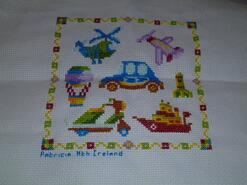 Cross stitch square for Scott W's quilt