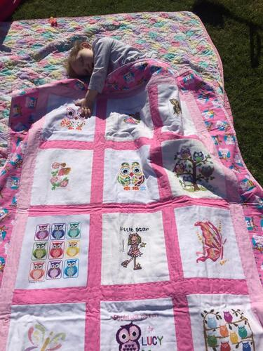 Photo of Lucy Rs quilt