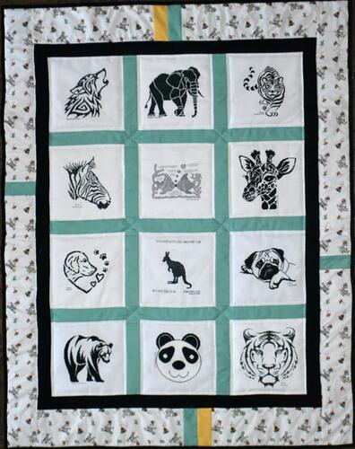 Photo of Bs quilt